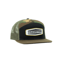 Transition Cap - 7 Panel ForestCamo