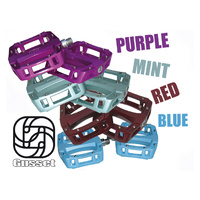 Gusset Pedals - Slim Jim Alloy