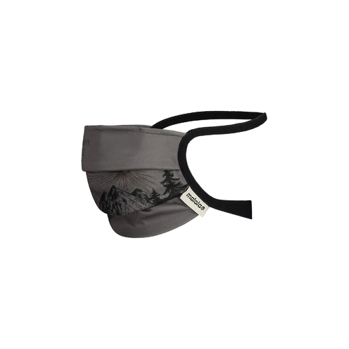 Maloja Mask - Reusable Dark Grey Landscape